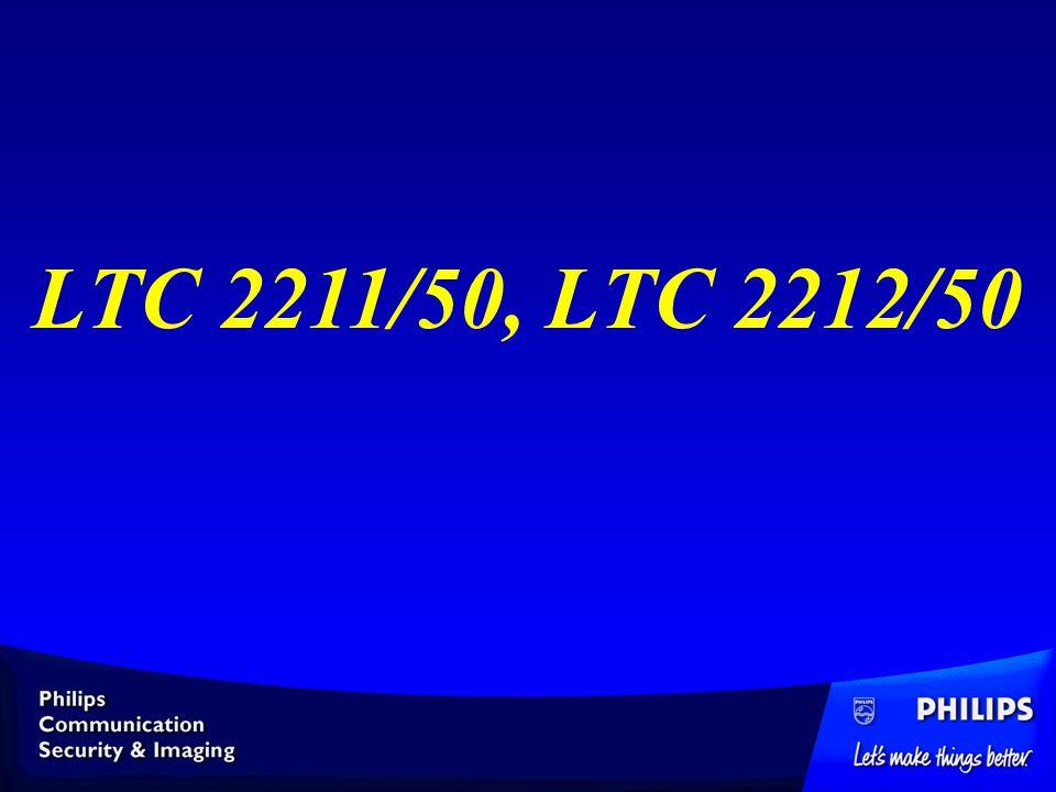 LTC 2211/50, LTC 2212/50