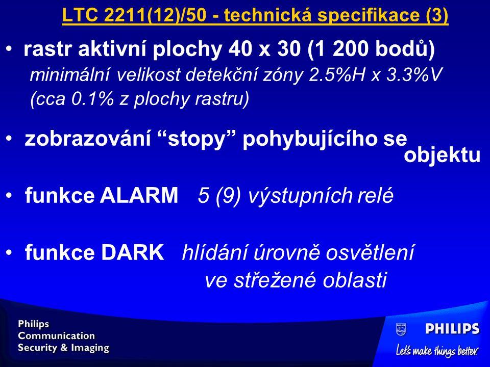LTC 2211(12)/50 - technická specifikace (3)
