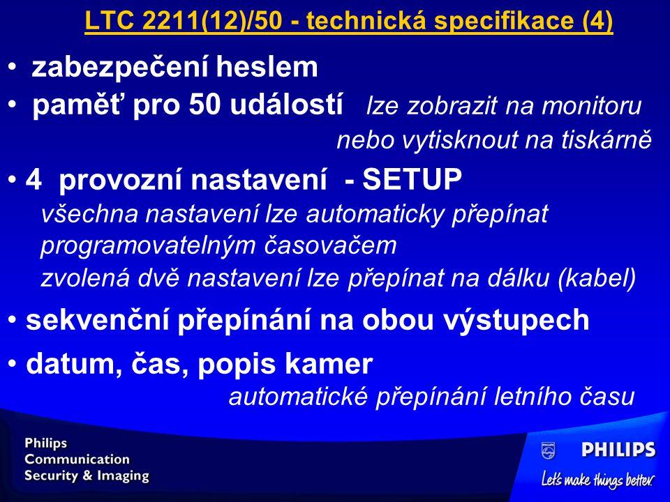 LTC 2211(12)/50 - technická specifikace (4)