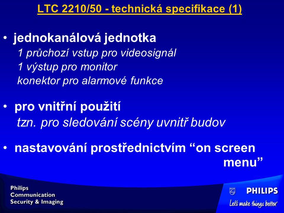 LTC 2210/50 - technická specifikace (1)