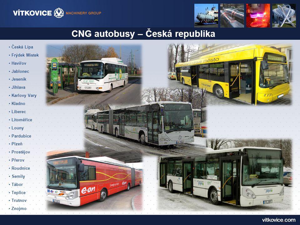 CNG autobusy – Česká republika