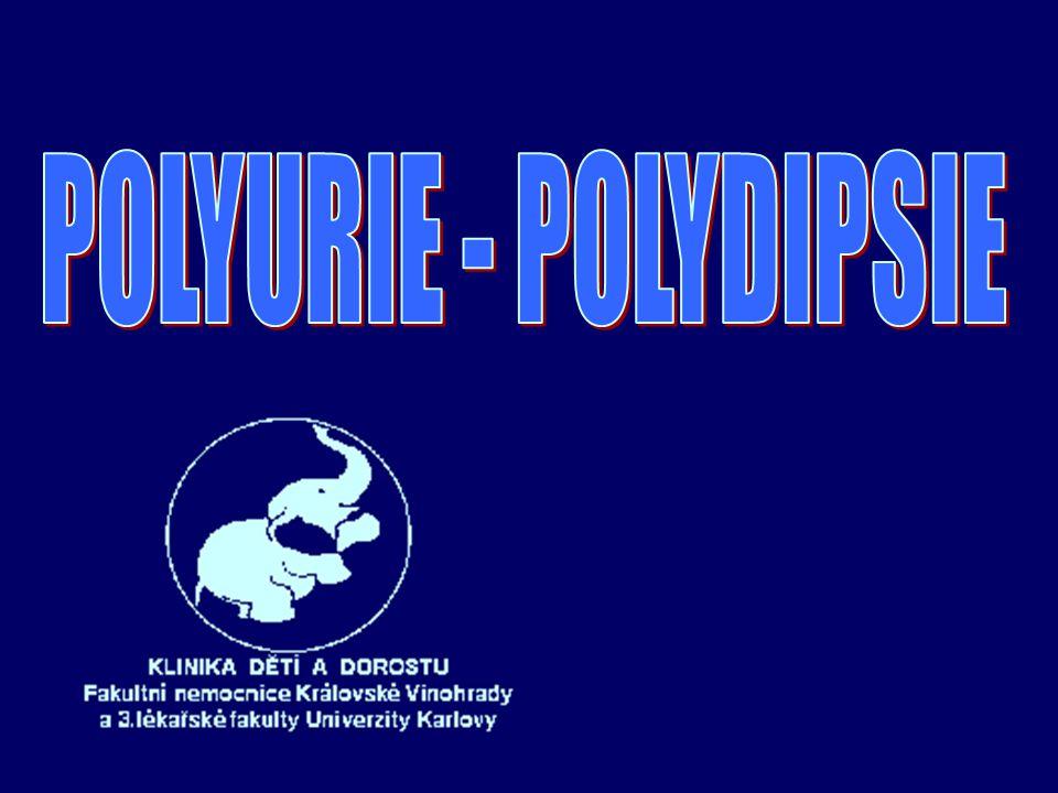 POLYURIE - POLYDIPSIE