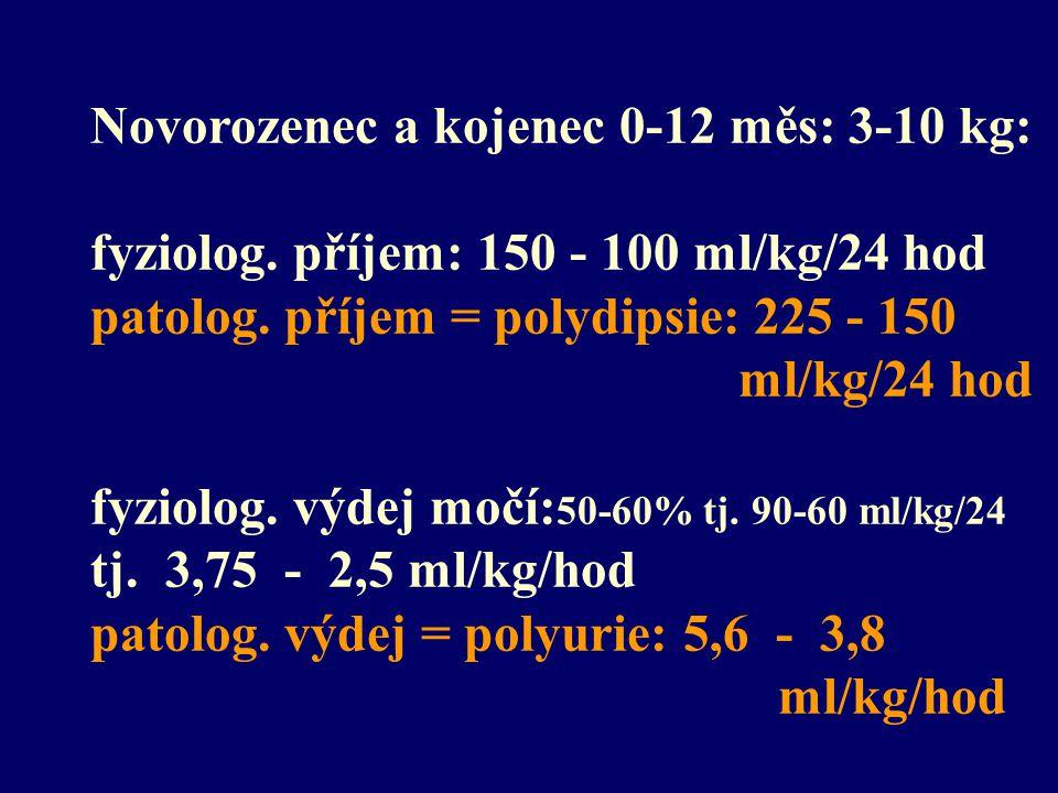 Novorozenec a kojenec 0-12 měs: 3-10 kg: fyziolog