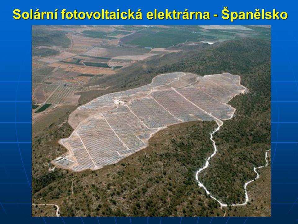 Solární fotovoltaická elektrárna - Španělsko