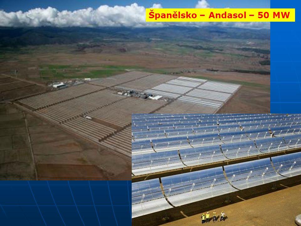 Španělsko – Andasol – 50 MW