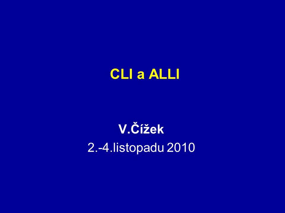 CLI a ALLI V.Čížek 2.-4.listopadu 2010