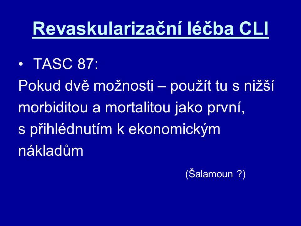 Revaskularizační léčba CLI