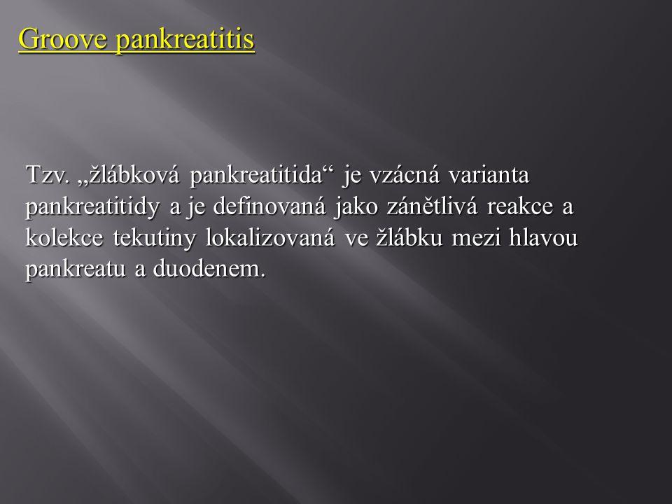 Groove pankreatitis