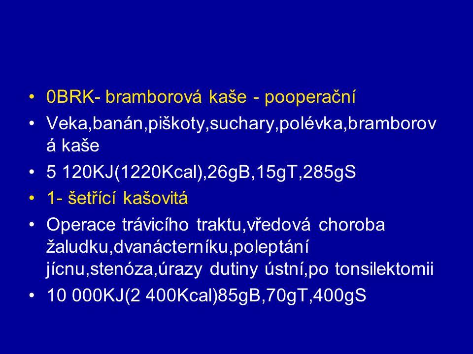0BRK- bramborová kaše - pooperační