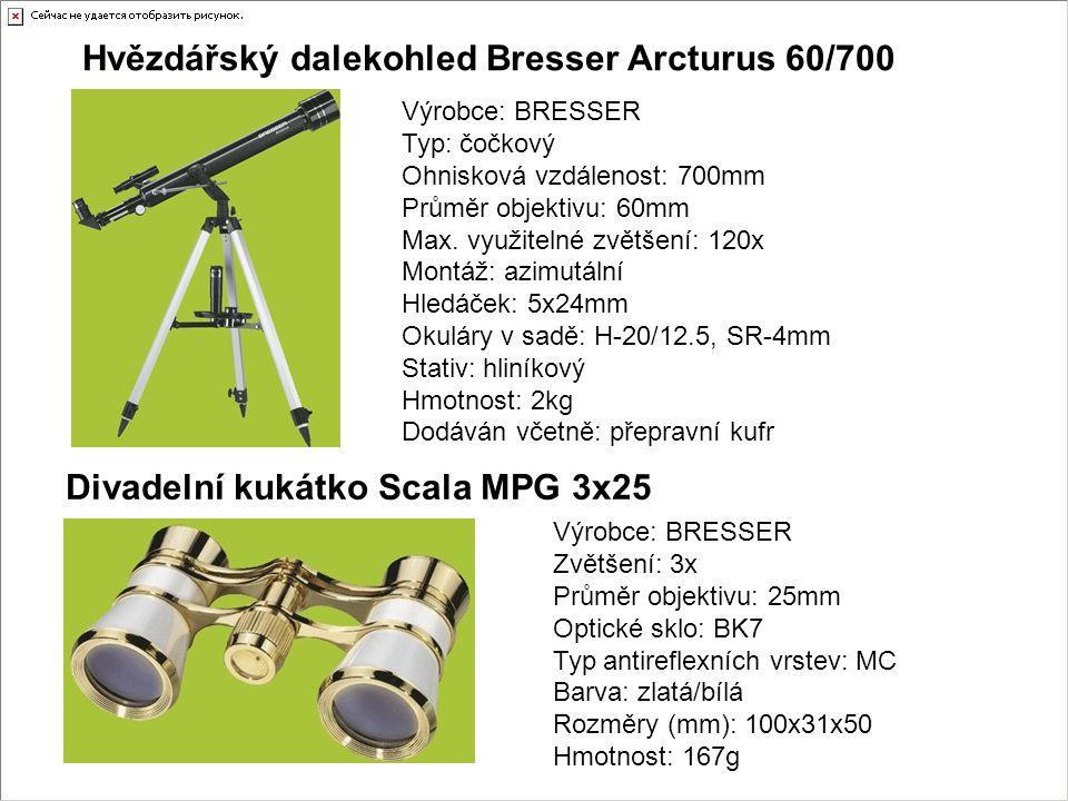 Hvězdářský dalekohled Bresser Arcturus 60/700