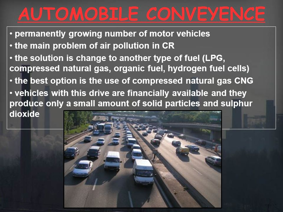 AUTOMOBILE CONVEYENCE