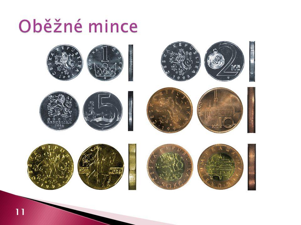 Oběžné mince 11