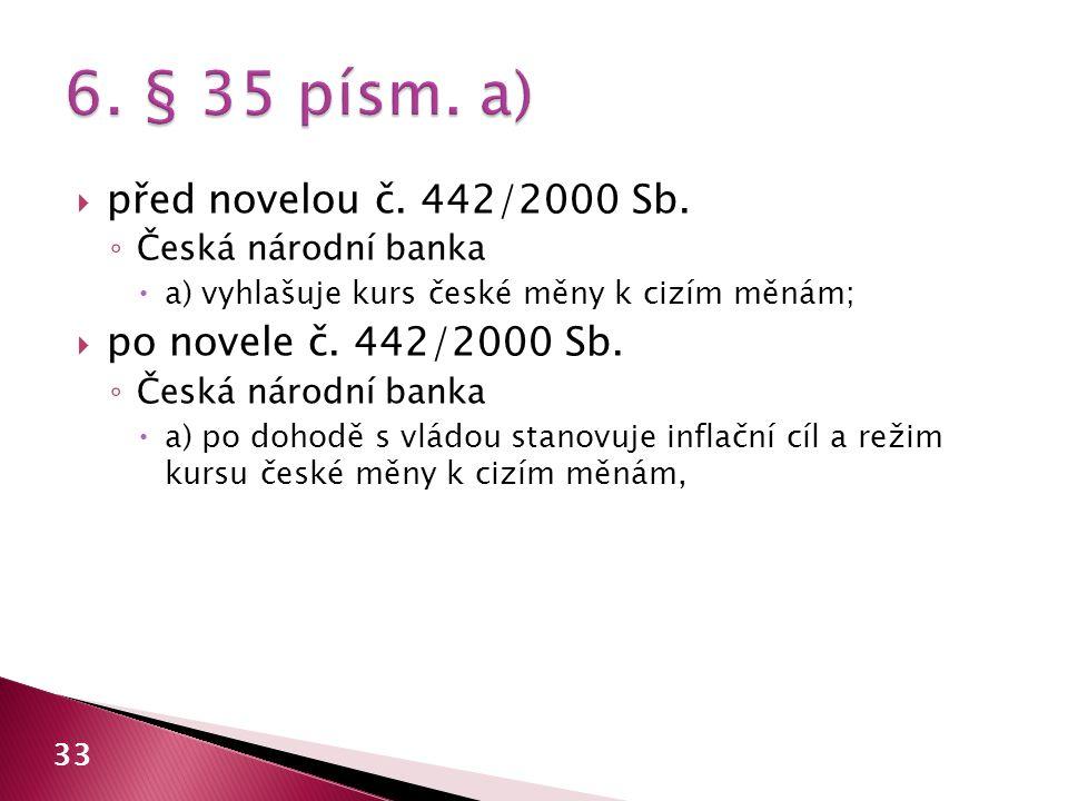 6. § 35 písm. a) před novelou č. 442/2000 Sb.