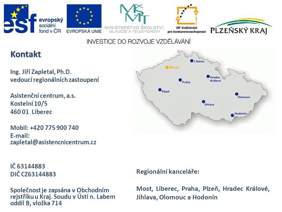Kontakt Regionální kanceláře: