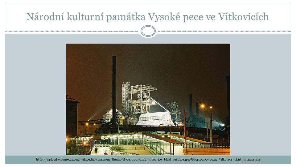 Národní kulturní památka Vysoké pece ve Vítkovicích