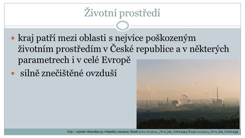 Životní prostředí kraj patří mezi oblasti s nejvíce poškozeným životním prostředím v České republice a v některých parametrech i v celé Evropě.