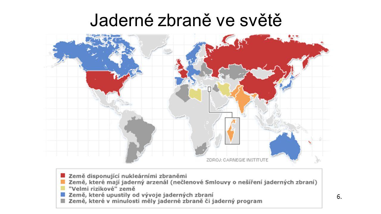 Jaderné zbraně ve světě