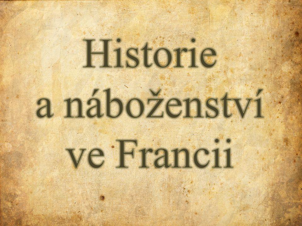 Historie a náboženství ve Francii