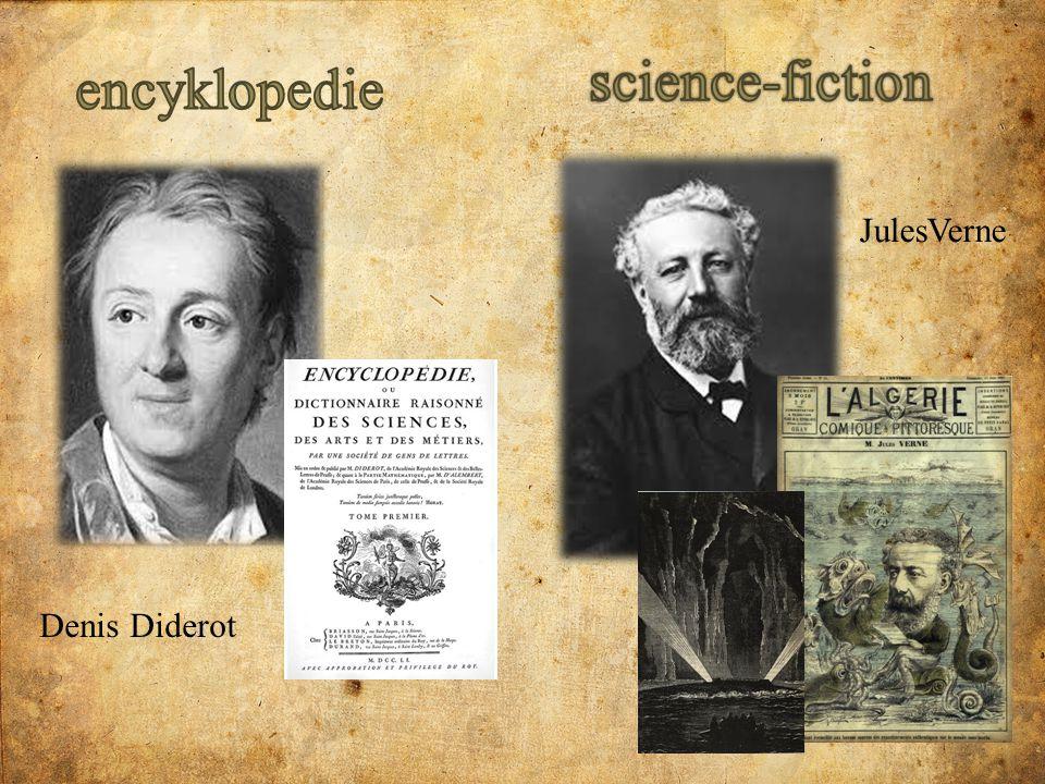 science-fiction encyklopedie JulesVerne Denis Diderot