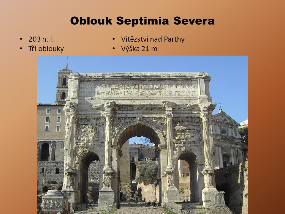 Oblouk Septimia Severa