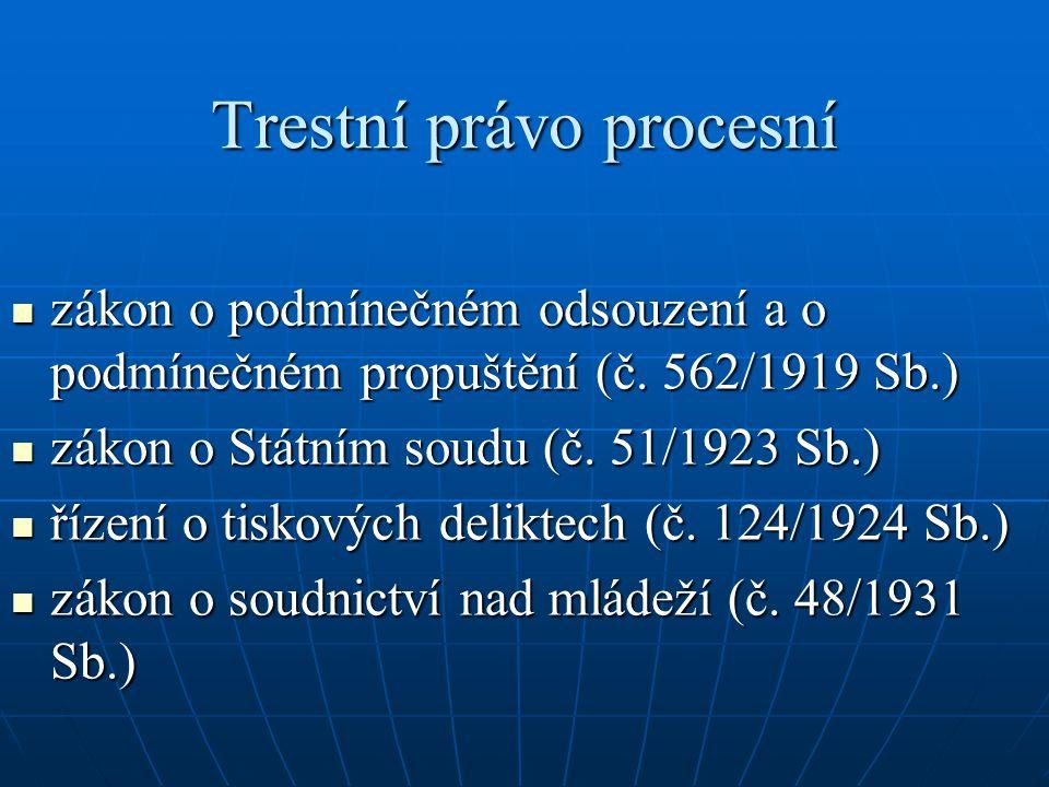 Trestní právo procesní