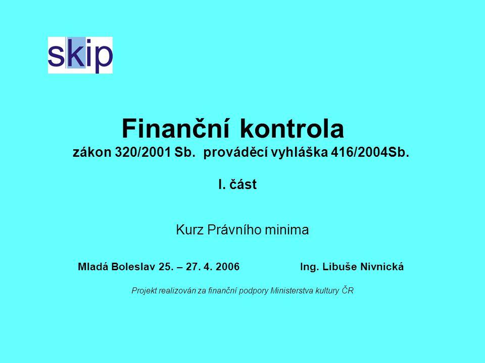 Projekt realizován za finanční podpory Ministerstva kultury ČR