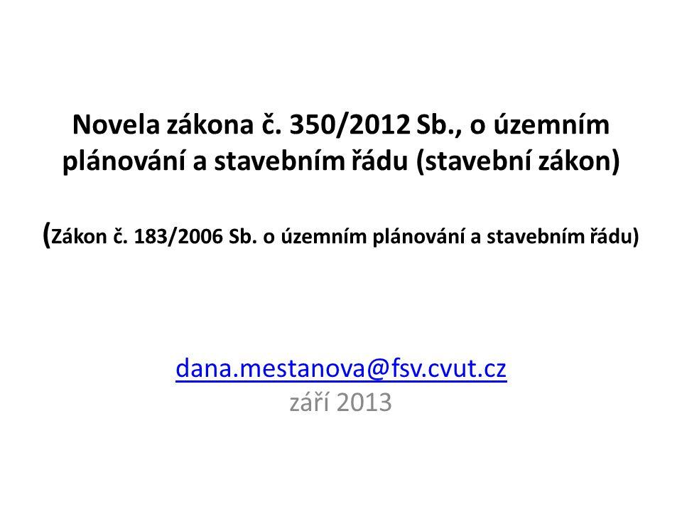 dana.mestanova@fsv.cvut.cz září 2013