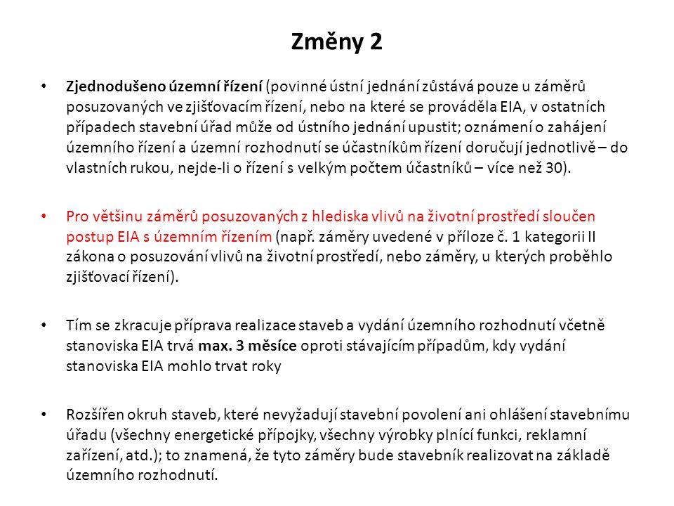 Změny 2