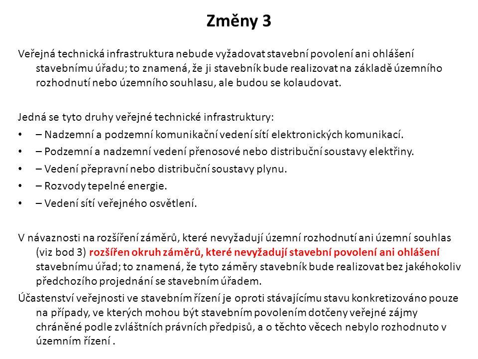 Změny 3