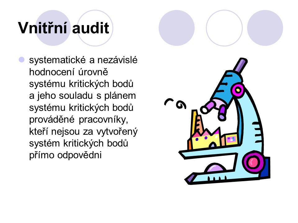 Vnitřní audit