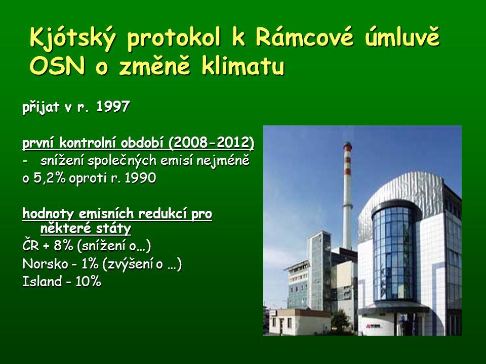 Kjótský protokol k Rámcové úmluvě OSN o změně klimatu