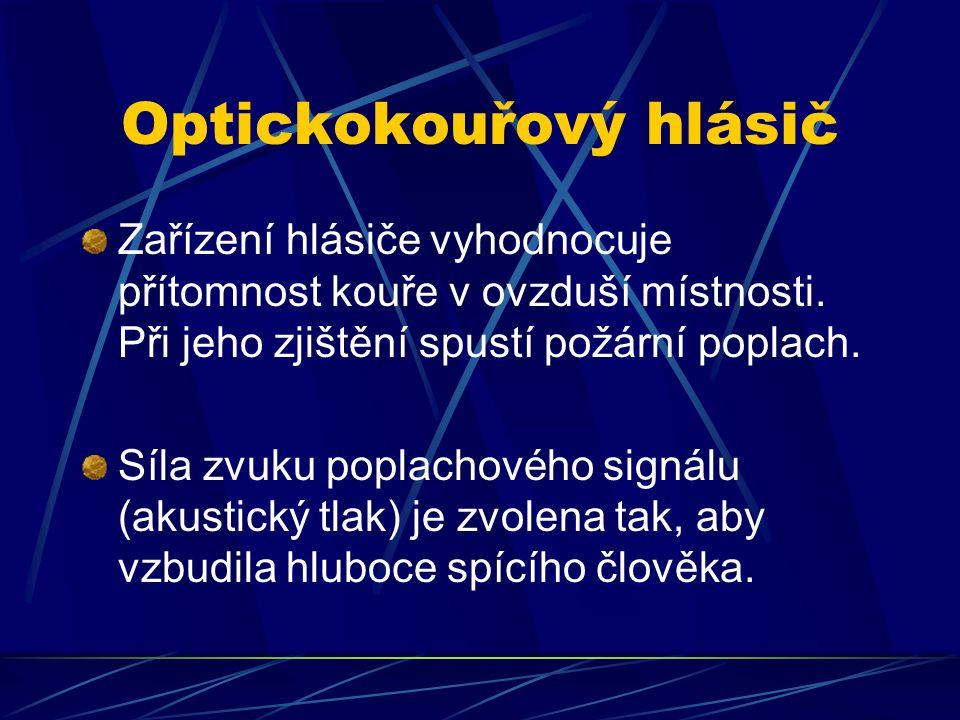 Optickokouřový hlásič