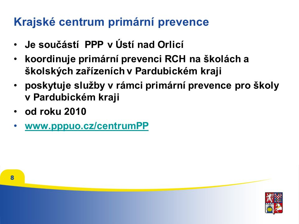 Krajské centrum primární prevence