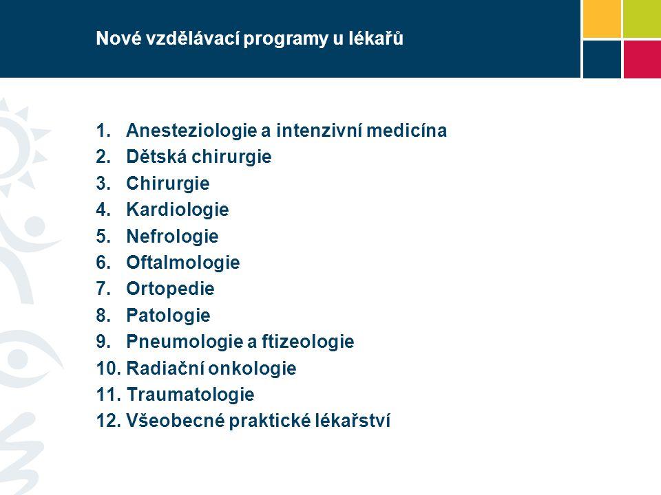 Nové vzdělávací programy u lékařů