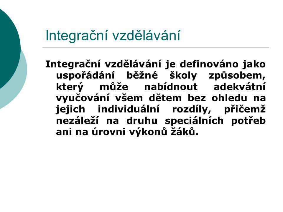 Integrační vzdělávání