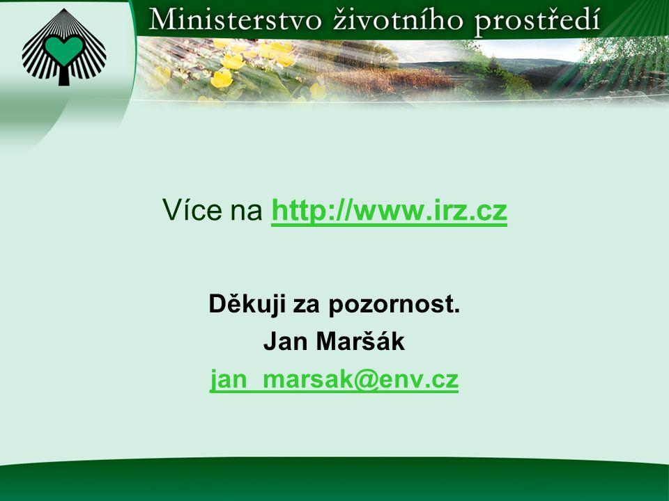 Více na http://www.irz.cz