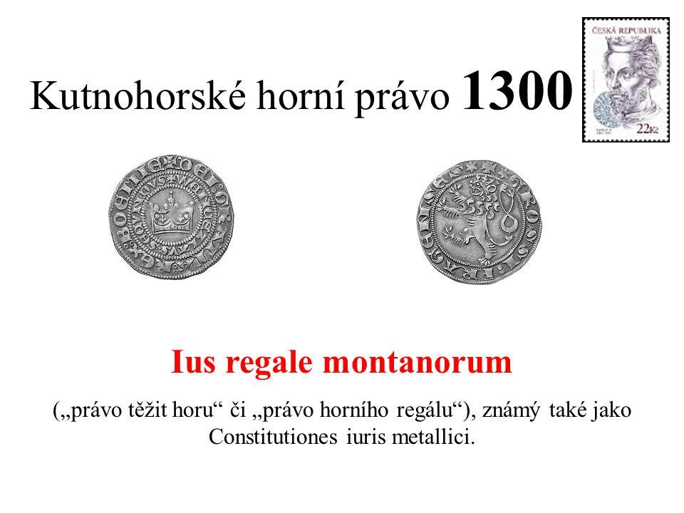 Kutnohorské horní právo 1300