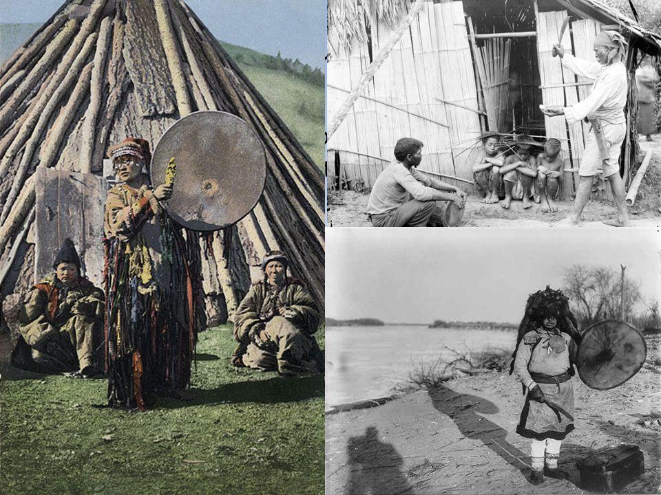 Šamanismus Popsán také u dalších lovecko-sběračských a nomádských společností Asie, Afriky, Ameriky i Austrálie.