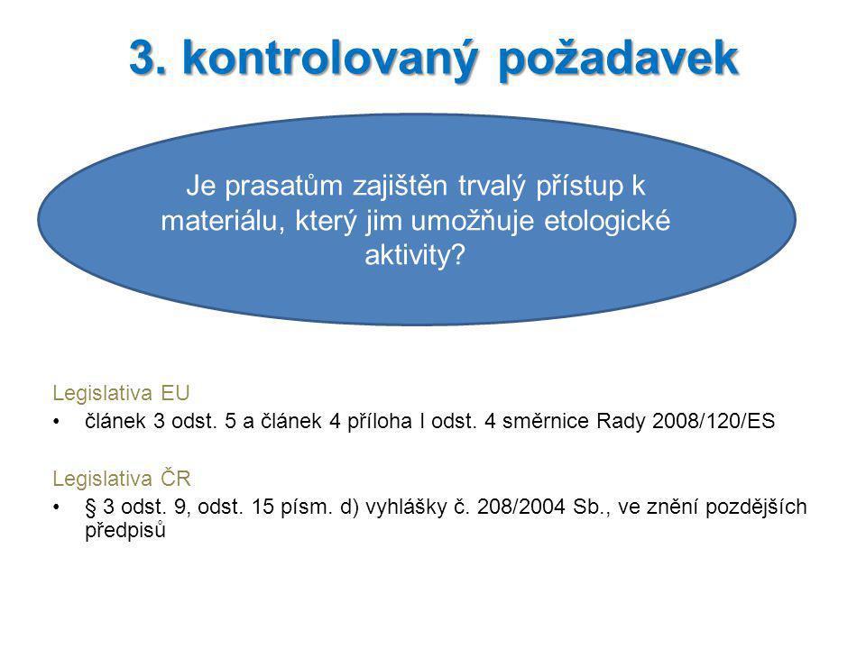 3. kontrolovaný požadavek