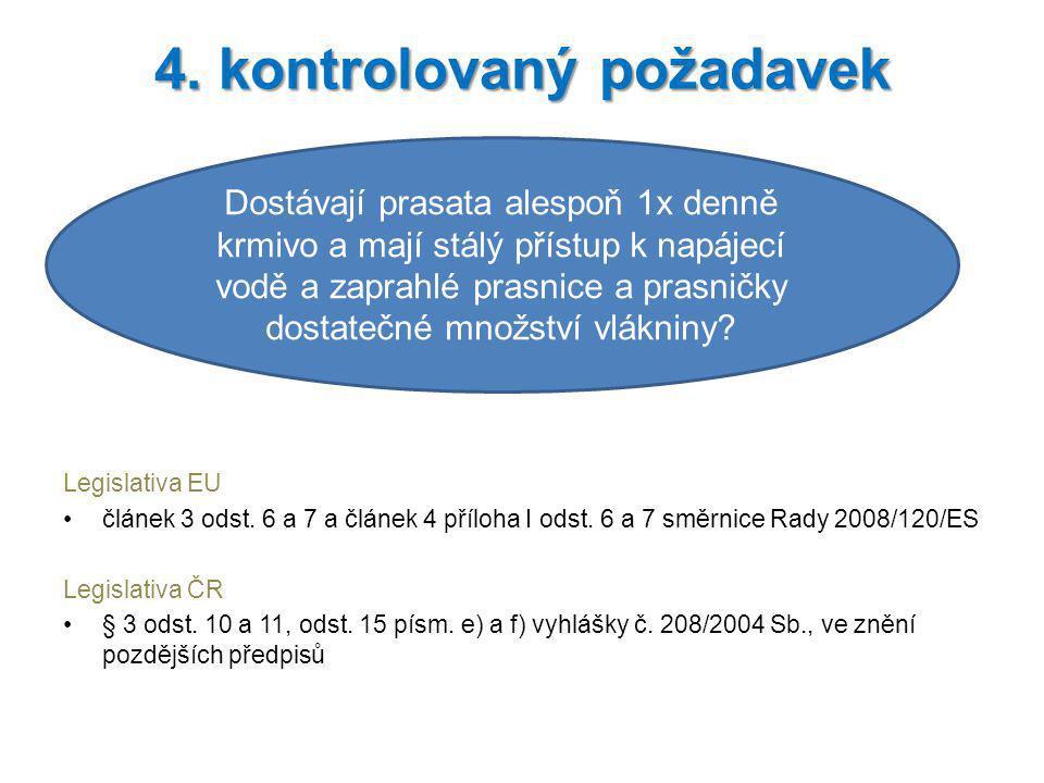 4. kontrolovaný požadavek