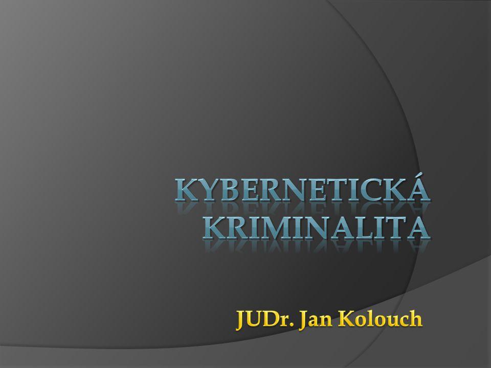 Kybernetická KRIMINALITA