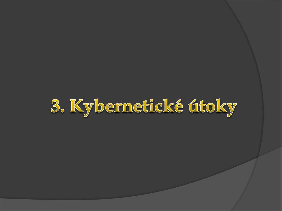 3. Kybernetické útoky