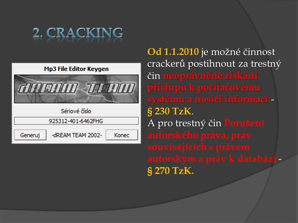 2. Cracking