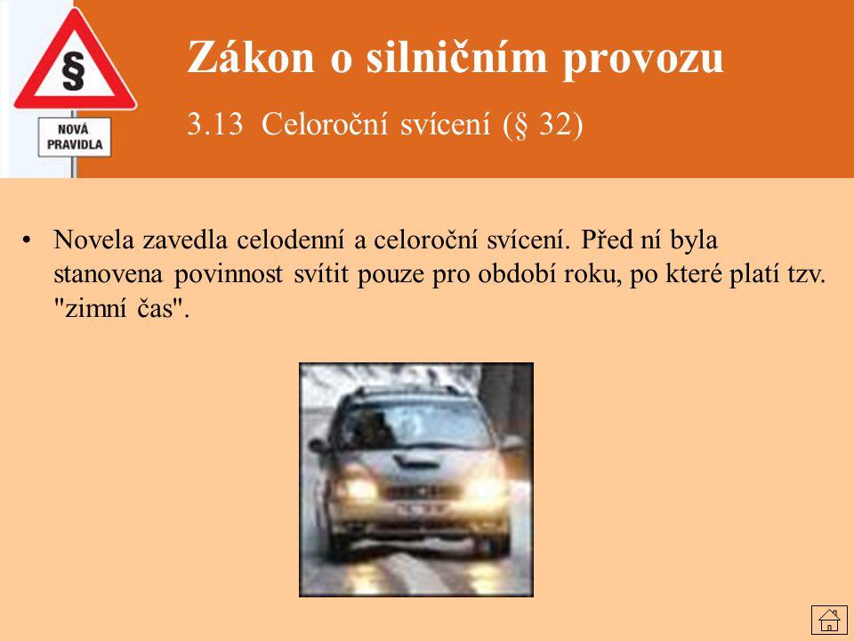 Zákon o silničním provozu