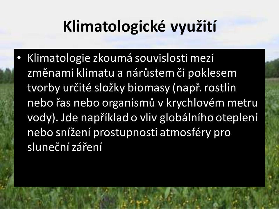 Klimatologické využití