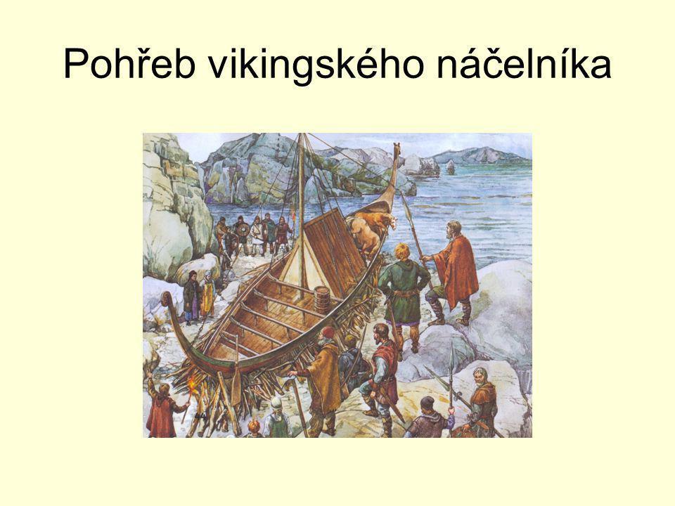 Pohřeb vikingského náčelníka