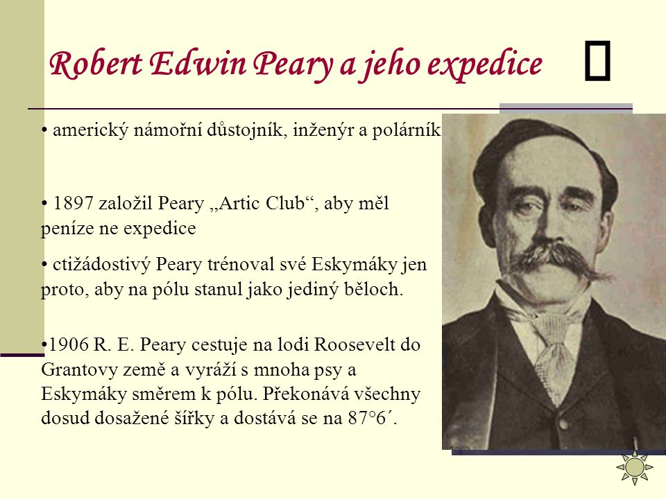Robert Edwin Peary a jeho expedice
