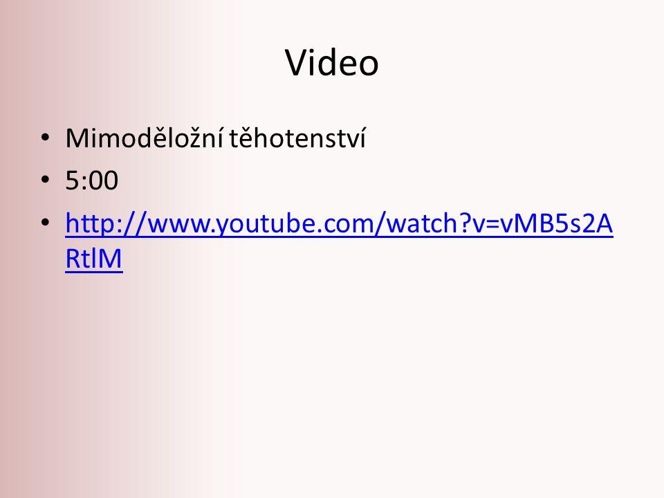 Video Mimoděložní těhotenství 5:00