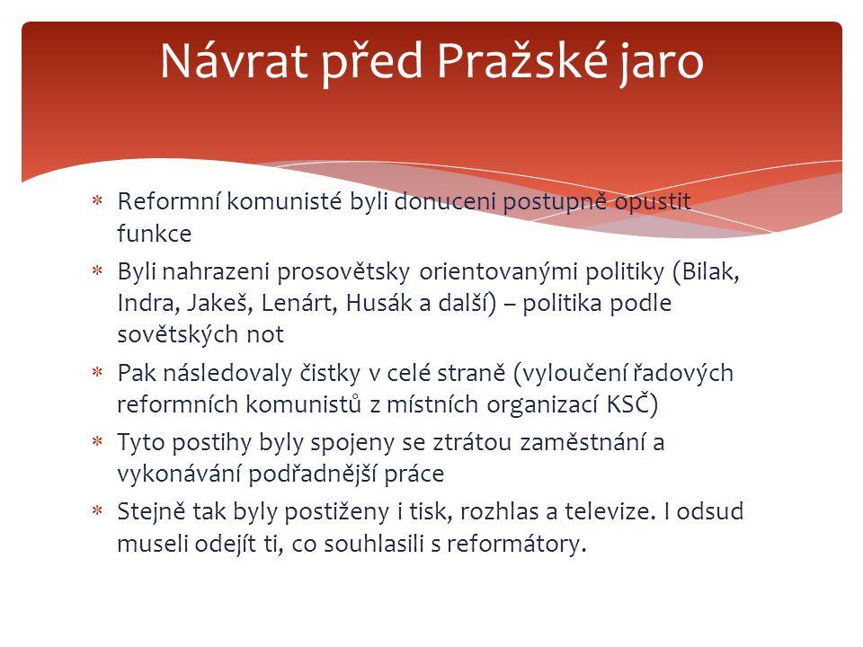 Návrat před Pražské jaro