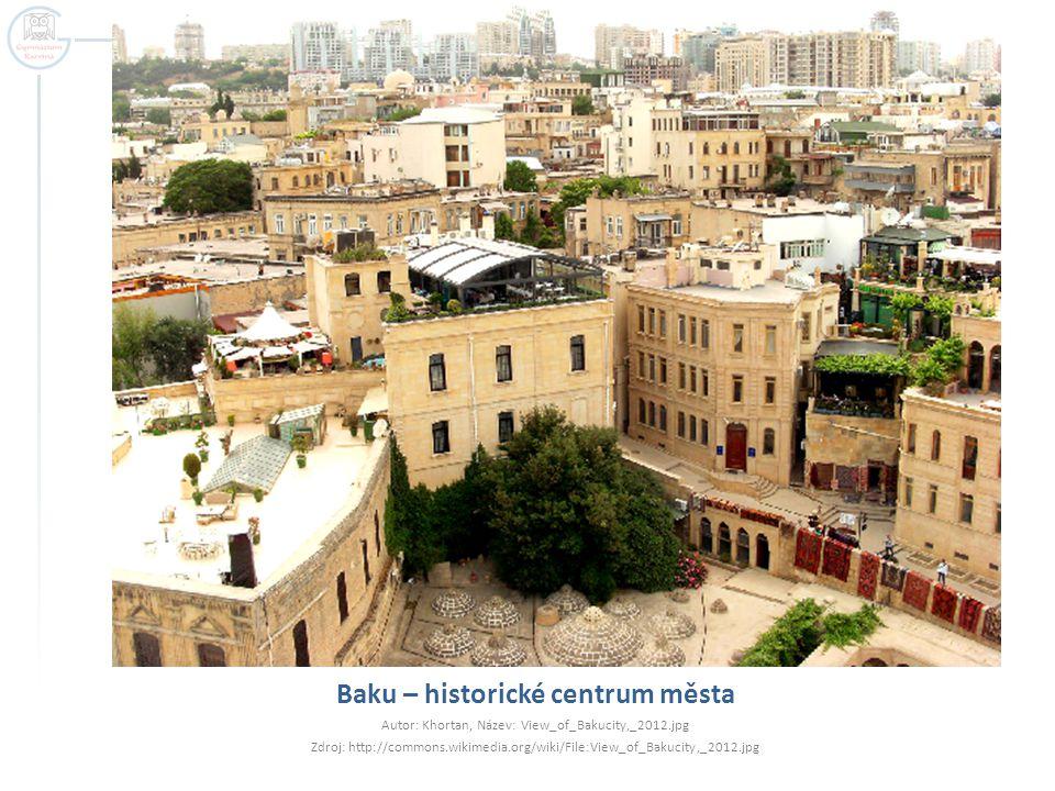 Baku – historické centrum města